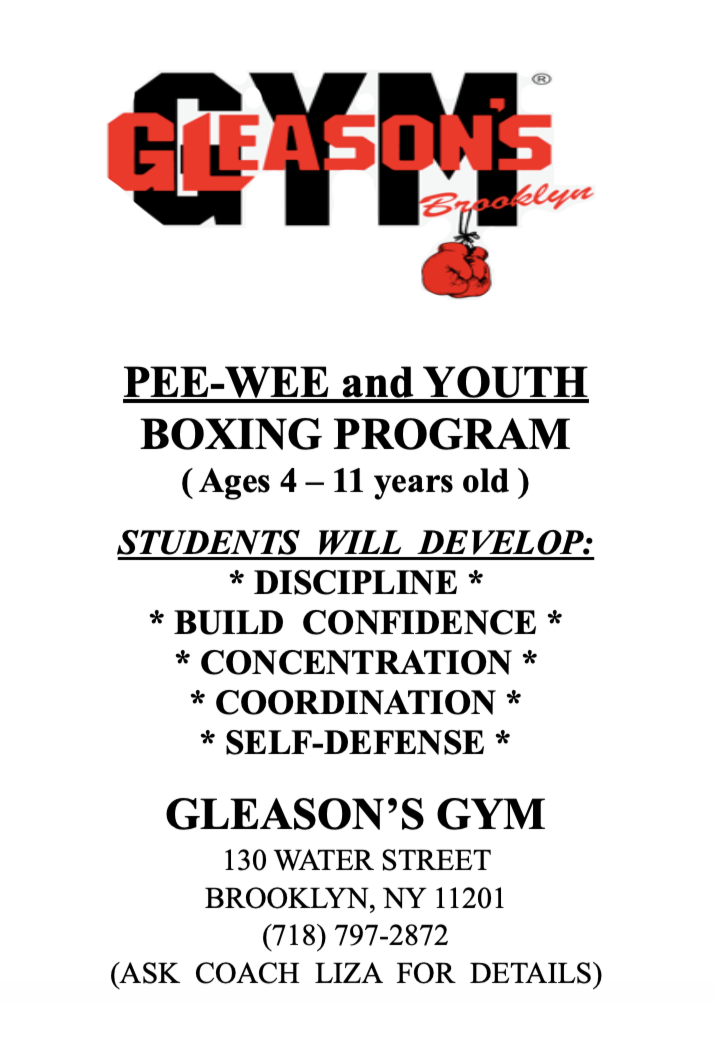 Gleason's Gym Pee-Wee & Youth Program