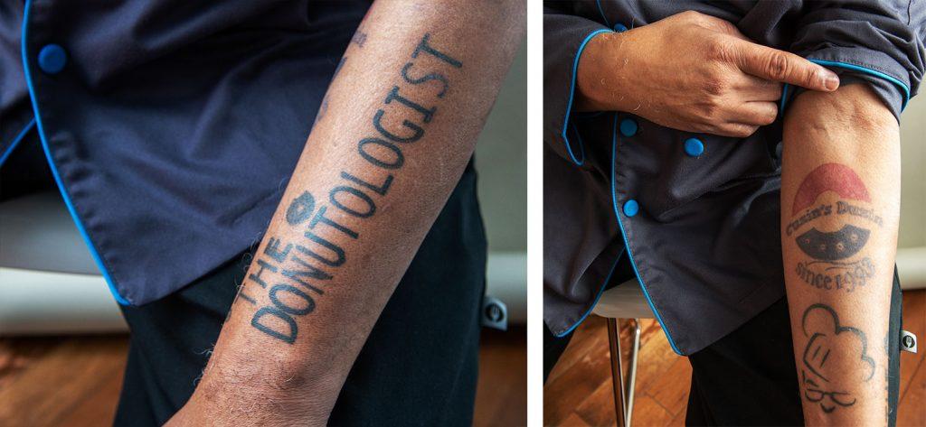 Donutologist Todd Jones Cuzin's Duzin